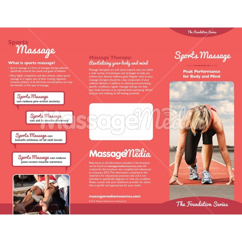 Massage Brochure – Sports Brochure