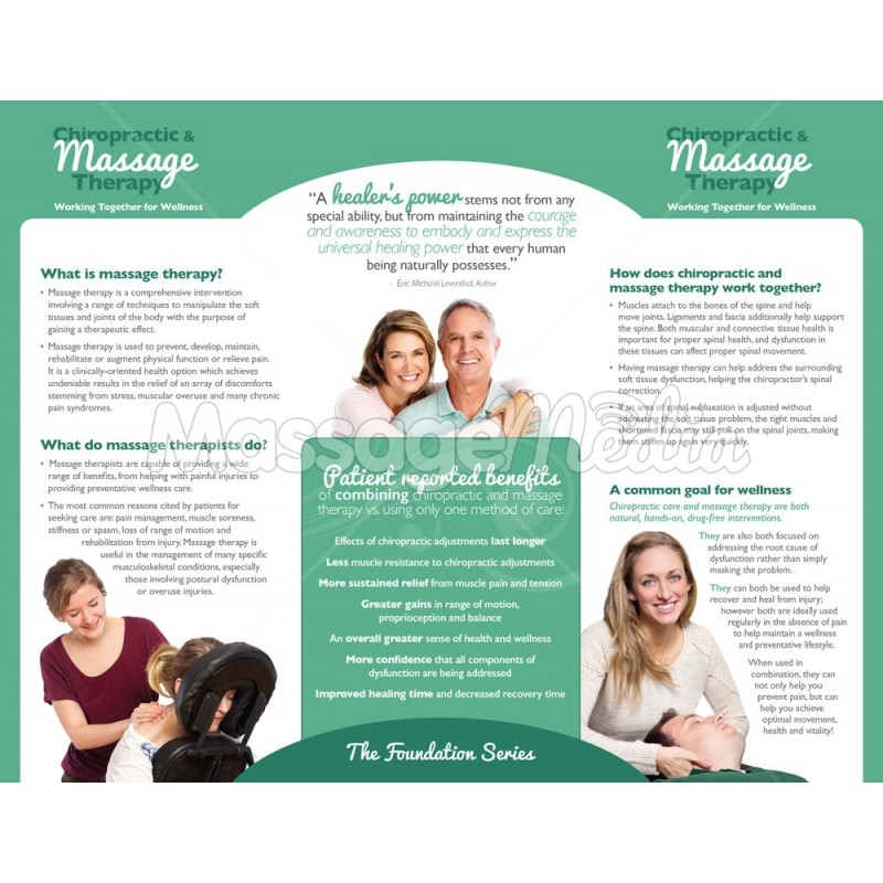 And Massage Therapy Brochure